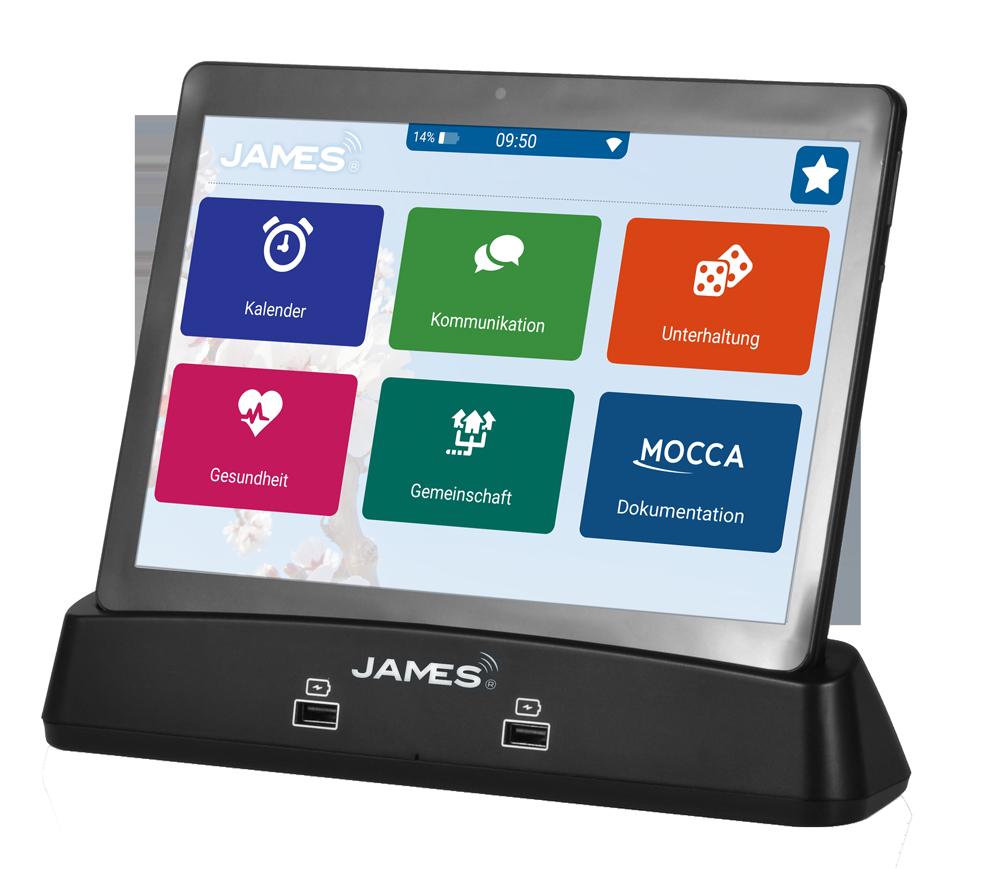 JAMES Tablet