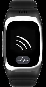 JAMES Notrufuhr B6 in Schwarz mit weißer Startbildschirmanimation