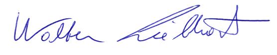 Unterschrifz Walter Liebhart